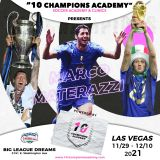 """DIECI CHAMPIONS CAMP"" – LAS VEGAS – with MARCO MATERAZZI – 11/29/2021 – 12/10/2021 @Big League Dreams"